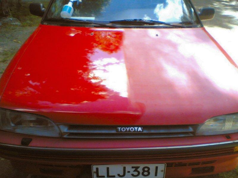 Auton maalaus spraymaalilla – Lähellä tulisija